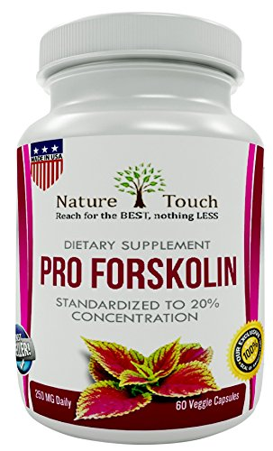 Pro Forskolin,Verified Extract- Best for Support Metabolism-Belly Buster Burn Fat Quicker,with- Pure Coleus Forskohlii (Coleus Forskolin) 250 mg (Forskoline Extract compare prices)