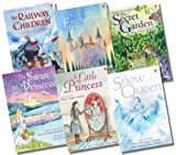 Usborne Young Reading Series 2 Girl's Collection - 6 Books RRP £29.94 (The Enchanted Castle; The Secret Garden; A Little Princess; The Swan Princess; The Snow Queen; The Railway Children)