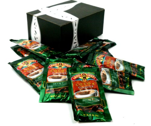 Land O Lakes Cocoa Classics, Mint & Chocolate Hot Cocoa Mix, 1.25 Oz Packets In A Gift Box (Pack Of 12) front-322767