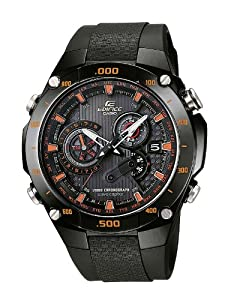 Casio - EQW-M1100C-1AER - Gents Watch - Quartz - Analogue - Black Resin Strap