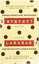 Larabar Gluten Free Fruit & Nut Food Bar, Chocolate Chip Cookie Dough, 16 - 1.6 Ounce Bars