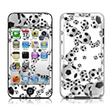 Apple iPod Touch 4th gen skin - Lots of Footballs (Matte Satin finish) - High quality precision engineered skin sticker wrap for the iPod Touch 4 / 4G (8gb / 16gb / 32gb / 64gb) launched in 2010 / 2011