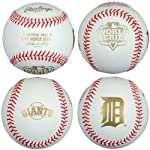 Rawlings WSBB12DL 2012 World Series Baseball with Detroit Tigers and San Francisco Giants Logos
