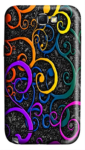 Online Designs Colorful Desktop Backgrounds Pc Hard New Cell Phone Case For Samsung Galaxy Note2