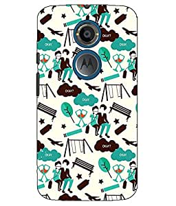 Astrode Printed Designer Back Case Cover For Motorola Moto X2 2nd Gen