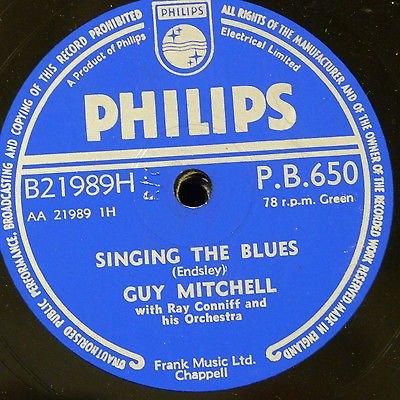 Guy Mitchell - Singing The Blues / Crazy With Love - Zortam Music
