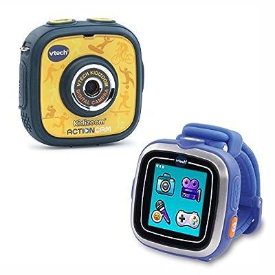 Vtech Kidizoom Action Cam Smart Watch Bundle