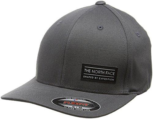 the-north-face-cappellino-a-tinta-unita-tessuto-sbe-flex-unisex-kappe-sbe-flex-ball-cap-grigio-asfal