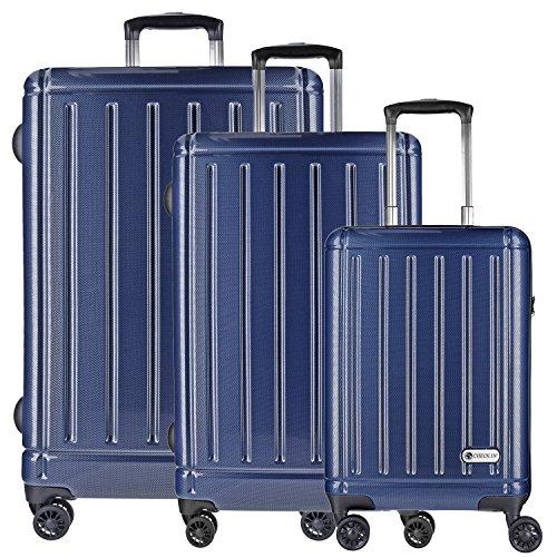 checkin-halifax-maleta-4-ruedas-con-ruedas-dobles-set-de-3-pzs-carbon-blau