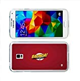 Bazinga Samsung Galaxy S5 Case Red Big Bang Theory