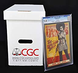 CGC/PGX Graded Comic Storage Box - Official Authorized - Measures 15\