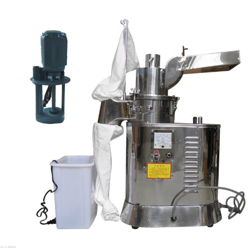 Automatic Continuous Hammer Mill Herb Grinder,Pulverizer Machine,40Kg Per Hour