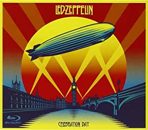 Celebration Day (Edition Deluxe 2 CD + Blu Ray + DVD Digipack Format CD)