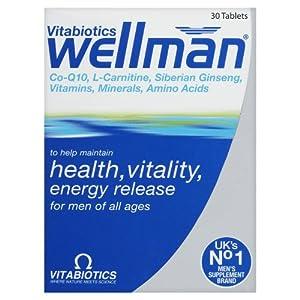 Vitabiotics Wellman Advanced Vitamin & Mineral Supplement 30 Tablets