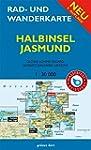 Rad- und Wanderkarte Halbinsel Jasmun...