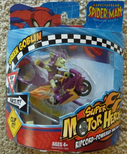 The Spectacular Spiderman Animated Series - Green Goblin - Super Motor Heroes