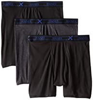 Hanes Men's 3 Pack Ultimate X-Temp Bo…
