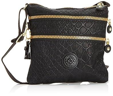 Kipling Women's Alvar S Shoulder Bag K15178C21 Black Animal