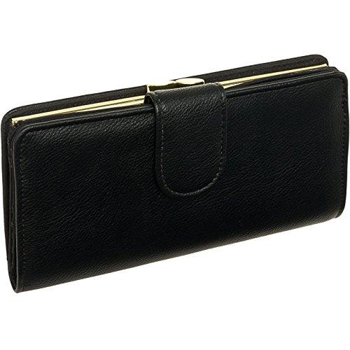 mundi-womens-suburban-rio-checkbook-safe-keeper-rfid-clutch-wallet-black