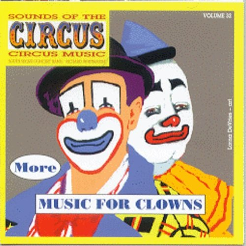Sounds Of The Circus Vol. 32 - More Music For Clowns front-515189
