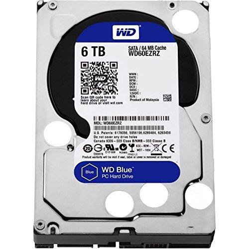 Western Digital製HDD WD60EZRZ 6TB SATA600 5400