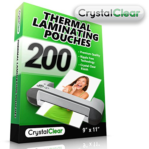 Thermal Laminating Pouches 200 Pack Get 2x More