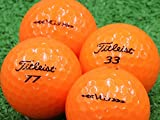 【Aランク】【ロゴなし】Titleist(タイトリスト) VG3 オレンジパール 2014年モデル 20個セット 【ロストボール】