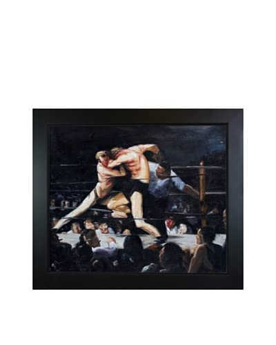 George Wesley Bellows Stag Night At Sharkey's Framed Hand Painted Oil On Canvas