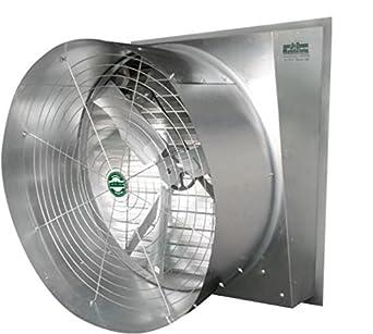 J Amp D Manufacturing Vns36d3 Typhoon Slant Wall Exhaust Fan