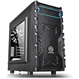 Thermaltake Versa H13 M-ATX Gaming Case with Side Window USB 3 and Black Interior