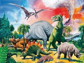 Ravensburger XXL 100 Piece Puzzle - Among the Dinosaurs