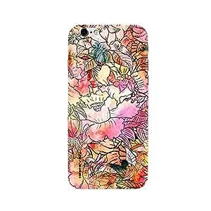 iSweven printed iph6sp_3155 papel de seda estampado Design Multicolored Matte finish Back case cover for Apple iPhone 6s plus