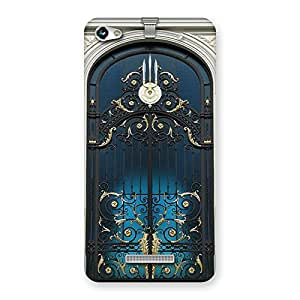 Cute Royal Door Print Back Case Cover for Micromax Hue 2