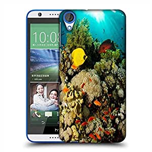 Snoogg Inside Water Designer Protective Phone Back Case Cover For HTC Desire 820