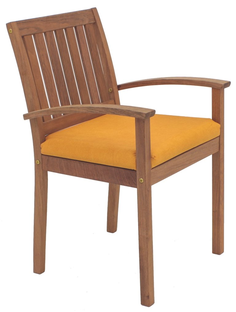 Tramontina 13827/332 Gartenstuhl Atlanta Armchair aus Jatoba FSC, edelholz