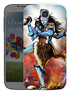 "Humor Gang Shiva Tandav - Hindu God Printed Designer Mobile Back Cover For ""Samsing Galaxy S4"" (3D, Matte, Premium Quality Snap On Case)"