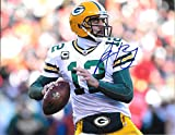 Aaron Rodgers Autographed Signed Green Bay Packers 8 x 10 Photo - Mint Condition - COA From Nostalgic Cards & Autographs
