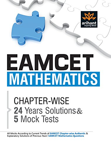 EAMCET Mathematics Chapterwise 24 Years' Solutions and 5 Mock Tests Image