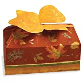 Autumn's Beauty Cardboard Cookie/Candy Boxes 2 per Pack