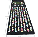 Samyo 本物の健康 フットマッサージ 足のマッサージパッド 模造石畳の歩道 SM-0282-AM
