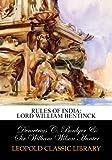 Rules of India: Lord William Bentinck