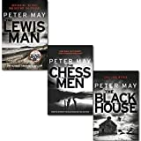 Peter May Lewis Trilogy Collection 3 Books Set By Peter May, (The Lewis Man, The Blackhouse, The Chessmen)