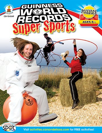 Guinnes World Records Super Sports Workbook, Grades 3-5