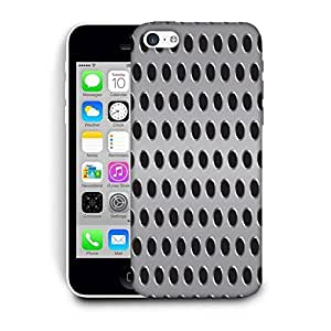 Snoogg Grey Holes Printed Protective Phone Back Case Cover For Apple Iphone 6+ / 6 Plus