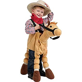 Fun World Costumes Baby's Ride-A-Pony Costume, Brown, One Size