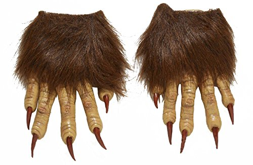 Forum Novelties Men's Werewolf Latex Claw Hands Costume Accessory