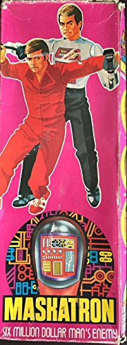 The Six Million Dollar Man Maskatron Toy Doll