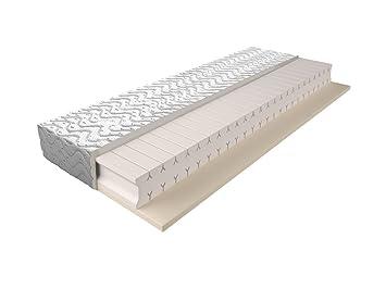 Matratze mit Schaumstoffkern 008 - Größe: 140 x 200 cm, Höhe: 17 cm
