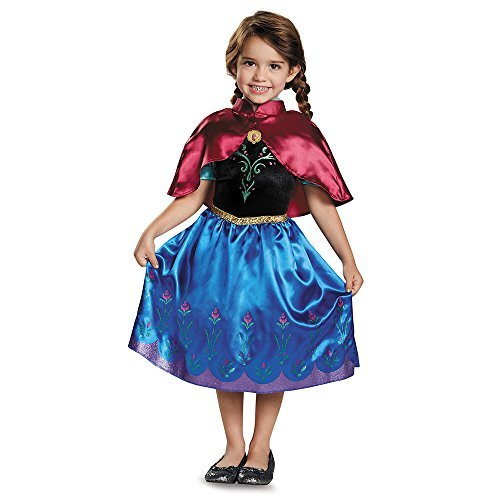 Disgu (Frozen Classic Traveling Anna Toddler Costumes)