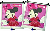 Disney Baby - Car Sunshades - Minnie Mouse Adjust & Lock - 2 Pack